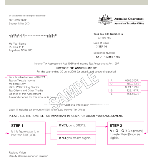 Sample Tax Assessment - Resume Template Sample